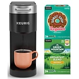 Keurig® Bundle K-Slim Single Serve Coffee Maker with Variety Pack of 48 K-Cup® Pods; SAVE 23%