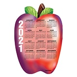 Die-Cut Calendar Magnets; 4x6, Apple