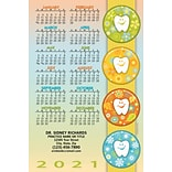 Calendar Magnets; 4x6, Tooth Seasons