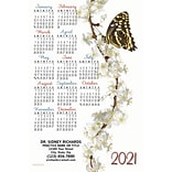 Calendar Magnets; 4x6, Butterfly Blossom