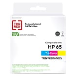 TRU RED™ Remanufactured Tri-Color Standard Yield Ink Cartridge Replacement for HP 65 (N9K01AN)