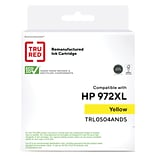 TRU RED™ Remanufactured Yellow High Yield Ink Cartridge Replacement for HP 972X (L0S04AN)
