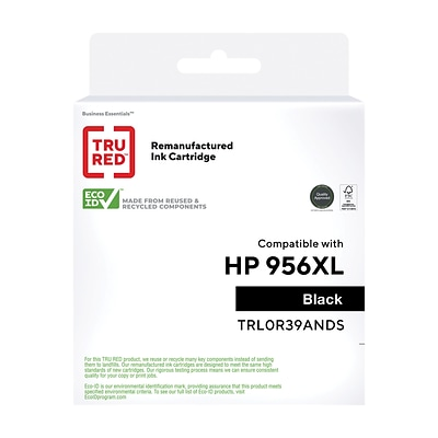 TRU RED™ Remanufactured Black High Yield Ink Cartridge Replacement for HP 956XL (L0R39AN)