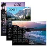 Assorted Calendar Magnets; 5x7, Water Scenes