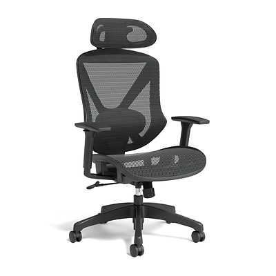 Quill Brand® Dexley Mesh Task Chair, Black (56946)