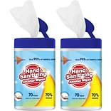 2 Hand Sanitizing Wipes with $50 order