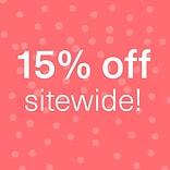 15% off with $175 order