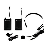 AmpliVox® Wireless Lapel Microphone Kit; S1601