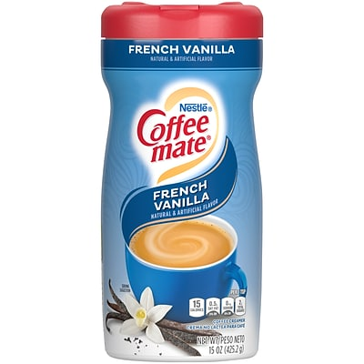 Coffee-mate French Vanilla Powdered Creamer, 15 Oz. (35775)