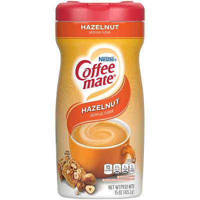 Coffee-mate Hazelnut Powdered Creamer, 15 Oz. (12345)