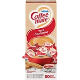 Coffee-mate Original Liquid Creamer, 0.38 Oz., 50/Box (35110)