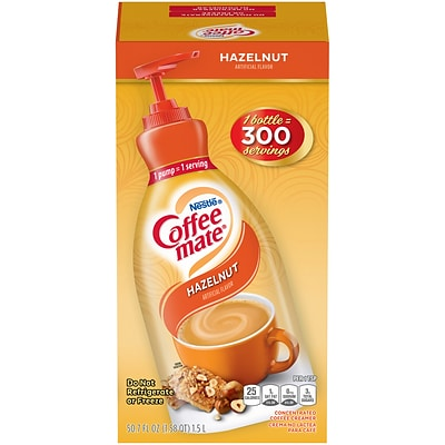 Coffee-mate Hazelnut Liquid Creamer, 50.7 Oz. (NES47862)