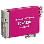CIG Remanufactured Magenta Standard Yield Ink Cartridge Replacement for Epson 78 (T078320)