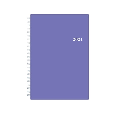 2021 Blue Sky 5 x 8 Planner, Reflections, Purple (117912-21)