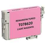 CIG Remanufactured Magenta Standard Yield Ink Cartridge Replacement for Epson T078 (T078620)