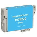 Clover Imaging Group Remanufactured Cyan Standard Yield Ink Cartridge Replacement for Epson T078 (T0