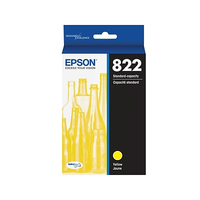 Epson 822 Yellow Standard Yield Ink Cartridge (T822420-S)