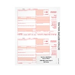 TOPS 2020 1099-NEC Copy A Laser/Inkjet Tax Forms, 100/Pack (LNECFED16)