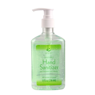 Mellow Gel Hand Sanitizer with Moisturizer and Vitamin E, 8 oz. (ML312)