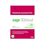 Sage 50cloud Premium Accounting for 4 Users, Windows, Download (50CPPA421ESDCSRT)