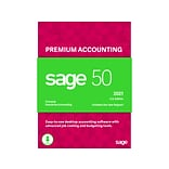 Sage 50 Premium Accounting 2021 for 5 Users, Windows, Download (PPA52021ESDCSRT)