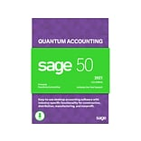 Sage 50 Quantum Accounting 2021 for 4 Users, Windows, Download (PTQ42021ESDCSRT)