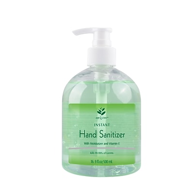 Mellow Gel Hand Sanitizer with Moisturizer and Vitamin E, 16.9 oz. (ML308)