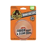 Gorilla Tough & Clear Double-Sided Mounting Tape (6036002)