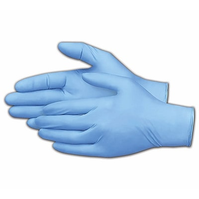 Nitrile Gloves, Powder-Free, Extra Large, 100/Box