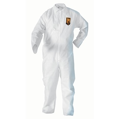 KleenGuard® A20 Liquid & Partical Protection Coveralls, Large, 24/Ct.
