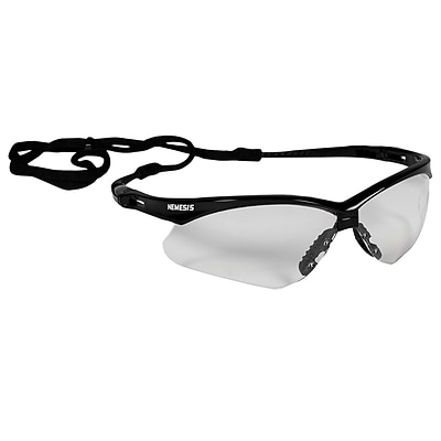 Jackson Safety Nemesis Polycarbonate Safety Glasses, Clear Lens (25676)