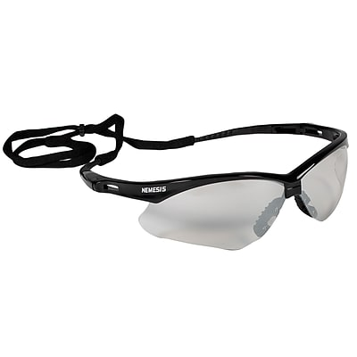 Jackson® Nemesis Safety Glasses, Polycarbonate, Indoor/Outdoor, Black (3000356)