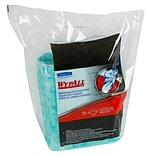 WypAll* Waterless Cleaning Wipes Refills, 9.5 x 12, 6 Packs of 75/Wipes (91367)
