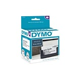 DYMO LabelWriter Appointment Card 30374 Label Printer Labels, 3-1/5W, Black On White, 300/Roll