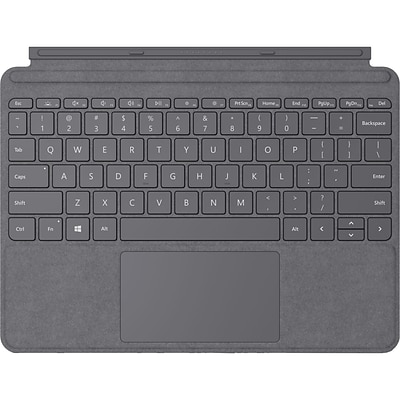 Microsoft Type Cover Keyboard/Cover Case Microsoft Surface Go 2, Surface Go Tablet, Platinum