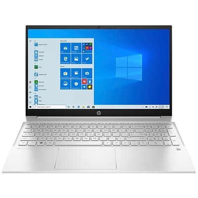 HP 15-eg0065st 15.6 Notebook, Intel i5, 12GB Memory, 256GB SSD, Windows 10, Silver