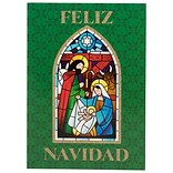 JAM PAPER Deluxe Spanish Christmas Cards & Matching Envelopes Set, Feliz Navidad, 12 Cards/Pack (JAM