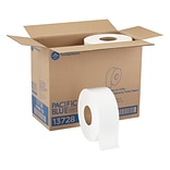 Pacific Blue Select Jumbo Jr. Toilet Paper, 2-Ply, White, 1000 ft./Roll, 8 Rolls/Carton (13728)