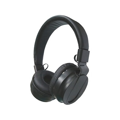 Compucessory Cushion Stereo Headphones, Black (15155)