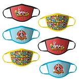 Looney Tunes Reusable Kids Cloth Face Masks, Assorted, 6/Pack (HCBMP2756)