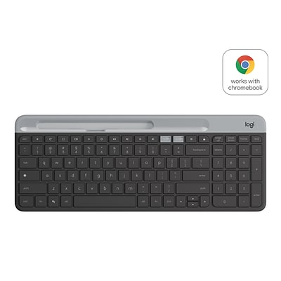 Logitech K580 Wireless Keyboard, Graphite/Black (920-009270X)
