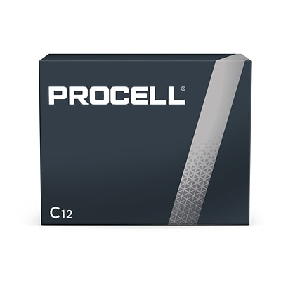 Procell Alkaline Battery, C, 12 Pack (PC1400)