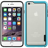 Insten Hard Dual Layer Crystal TPU Cover Case for Apple iPhone 6s Plus / 6 Plus - Blue