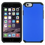 Insten Hard Hybrid Silicone Case For Apple iPhone SE / 5 / 5S - Blue/Black