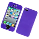 Insten Hard Case For Apple iPhone 4/4S - Purple