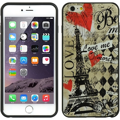 Insten TPU Imd Ultra Thin Skin Rubber Gel Case For Apple iPhone 6s Plus / 6 Plus - Paris Amour