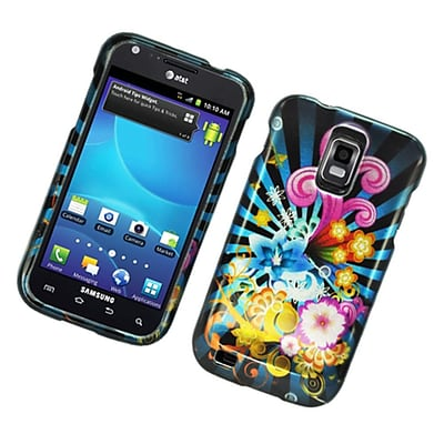 Insten Fireworks Hard Cover Case For Samsung Galaxy S2 Hercules - Blue/Colorful