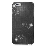 Insten Hard Diamante Case For Apple iPhone 6s Plus / 6 Plus - Black