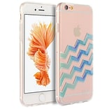 Insten TPU Water Color Imd Ultra Thin Skin Rubber Gel Case For Apple iPhone 6s Plus / 6 Plus - Wave