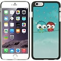 Insten Owl Hard Rubber Case for Apple iPhone 6s Plus / 6 Plus - Blue